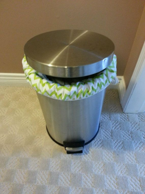 Pail Liner for Cloth Diapers, Sports laundry, Dorm laundry, Potty training. 100% PUL.