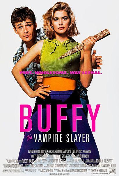 Buffy The Vampire Slayer – 1992 – Movie Poster