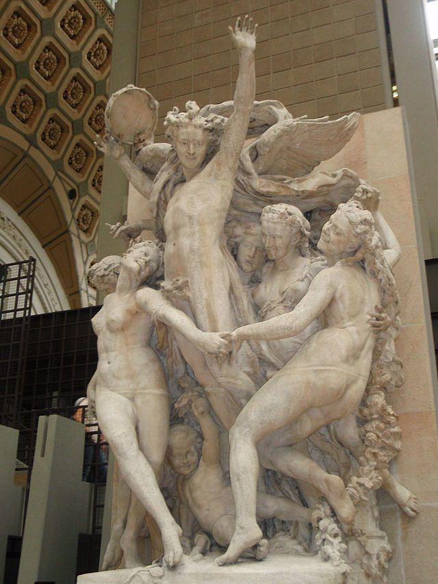 Jean-Baptiste Carpeaux, La Danse, 1865-1869, Paris, musée d'Orsay - Wikimedia Commons