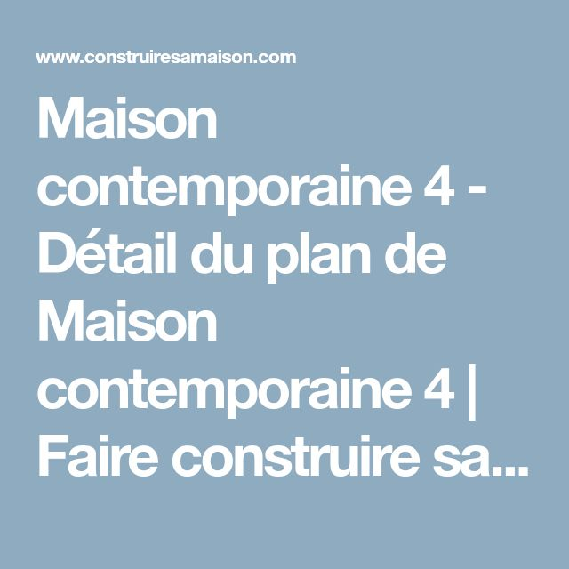 Maison contemporaine 4
