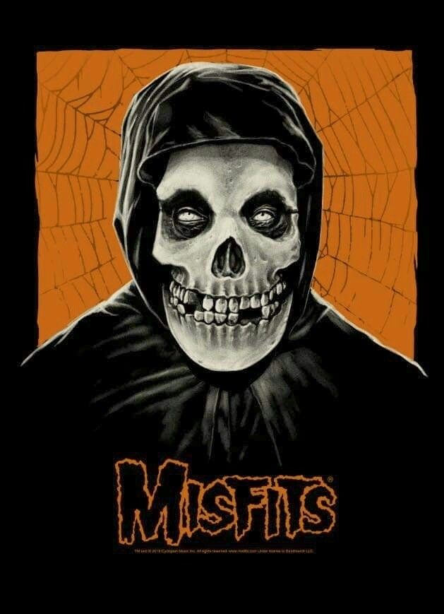 Misfits By Gary Pullin Punk Poster Misfits Band Album Cover Art