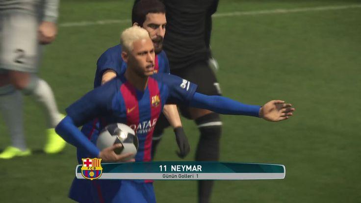 Incredible Goal (Barcelona-Real Mardid) NEYMAR - PES 2017 (Ps4 Pro) Game...