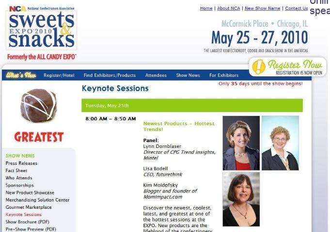 I speak at conferences.