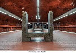 Stockholm tunnelbana Skarpnäck