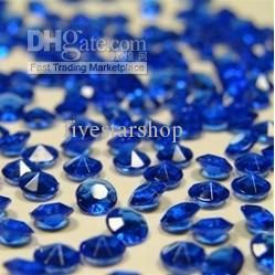 Wholesale 5000 DIAMONDS WEDDING ROYAL BLUE TABLE SCATTER CRYSTALS, Free shipping, $7.11-10.83/Piece | DHgate