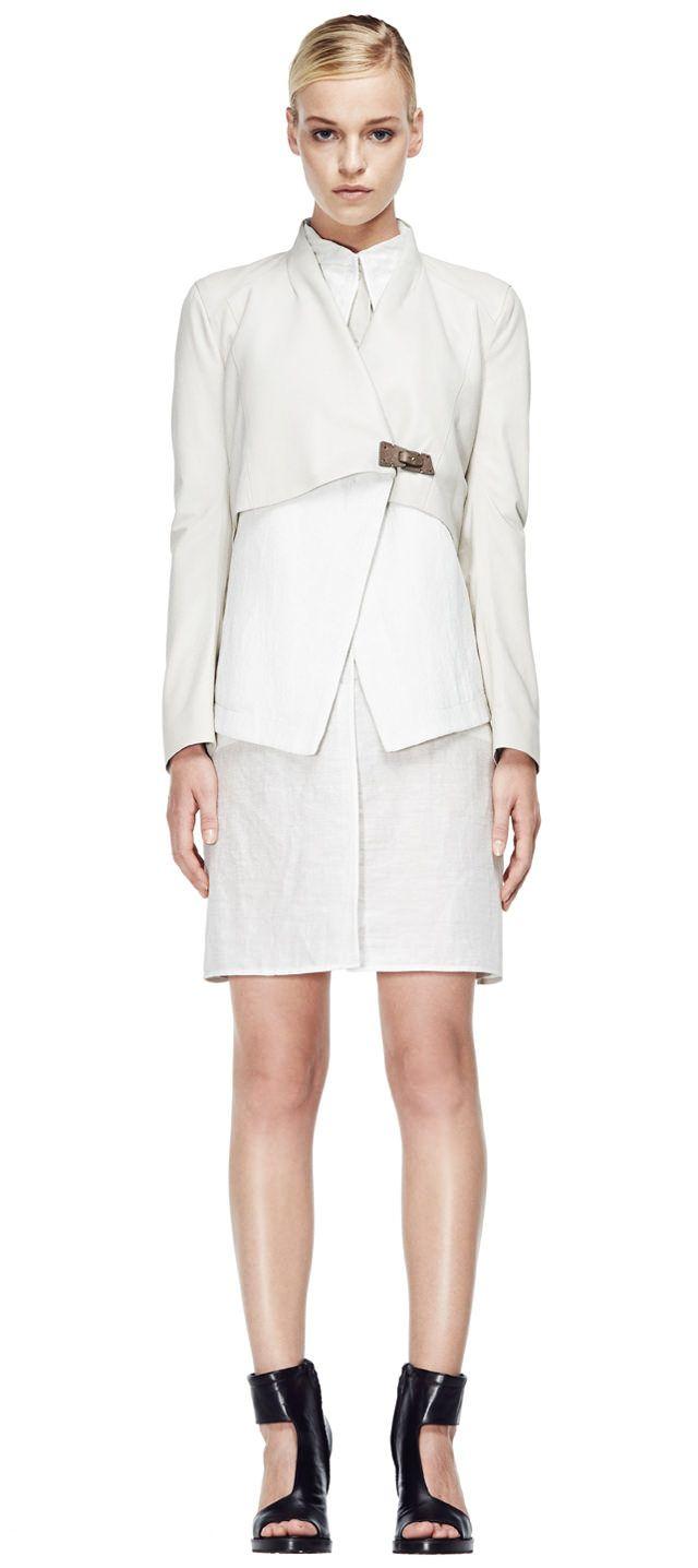 V S P Spring/Summer 2015 #vsp #leather #design #spring #summer #fashion #jacket
