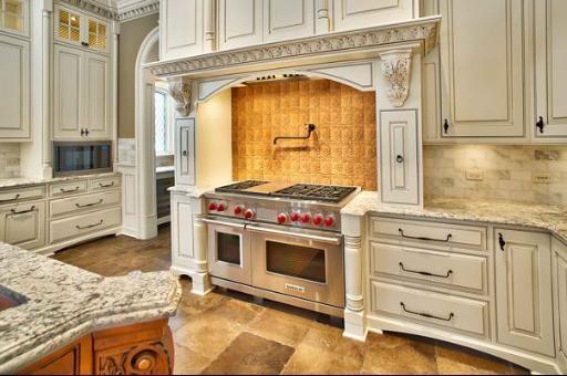 Beautiful custom white kitchen, Hinsdale, IL | Kitchens