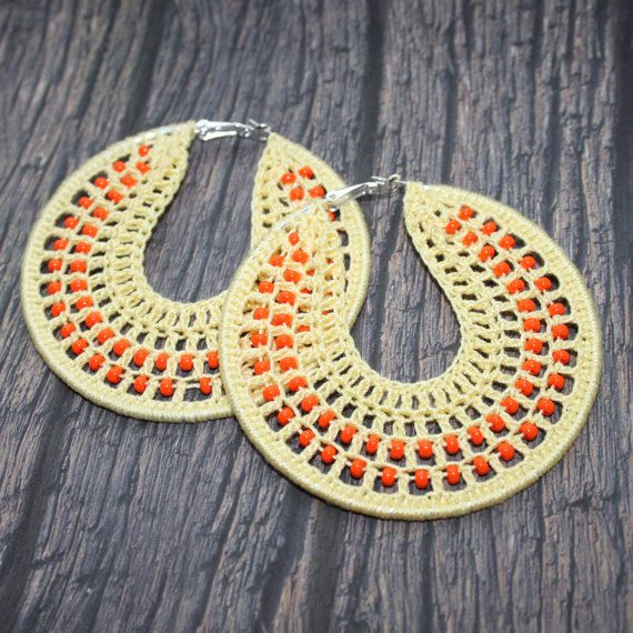 17 Best images about Crochet: Earrings -loops- on ...