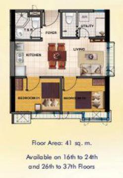 Mezza 1 Residences Condominium - Aurora Boulevard corner Araneta Avenue and Guirayan St. Quezon City SMDC