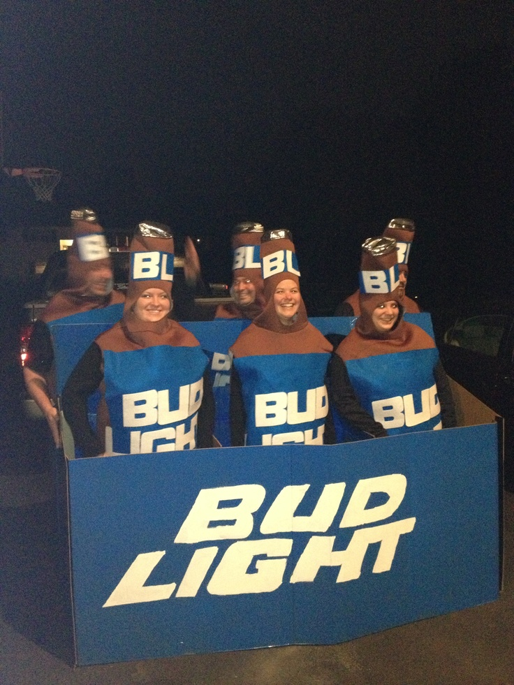 Budlight Costume~ Lmao | A LITTLE DRINKY POO | Pinterest | Costumes, Hocus  Pocus And Party Time. Design Ideas