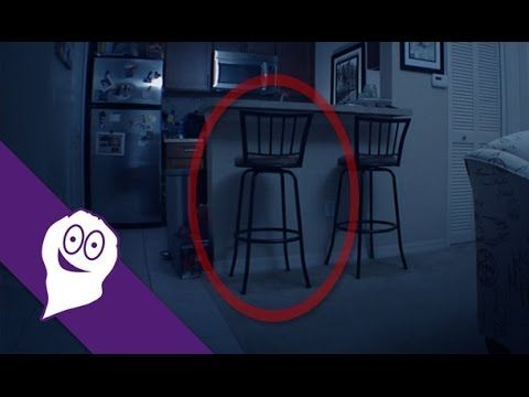Scary Ghost Video! Watch the Chair (Paranormal Activity Caught On Tape) - GHOULISH EXPEDITIONS - YouTube