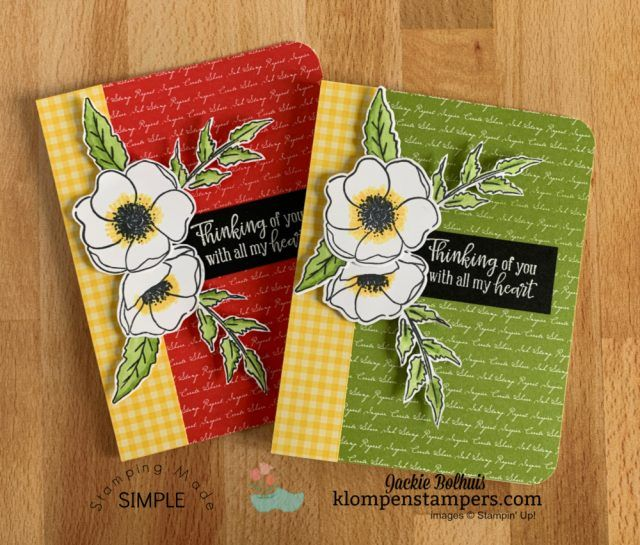 A Simple Card Idea A Back By Popular Demand Opportunity Poppy Cards Simple Cards Card Making