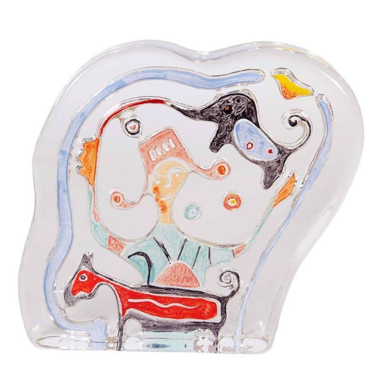Matt Lamb 'Spirit of Dreams' Art Crystal Small Sculpture 1