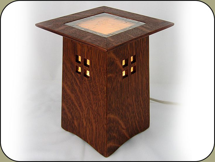 This Craftsman Lighted Pedestal Isnu0027t The Most Functional Thing I Make, But  I