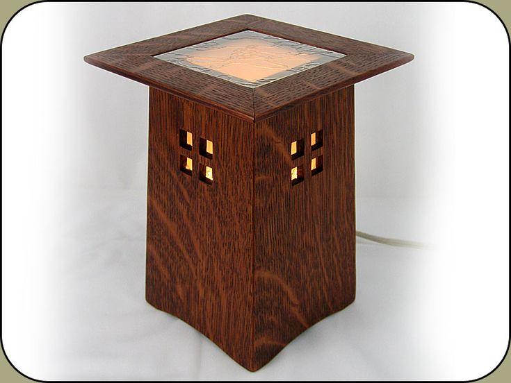 craftsman furniture. this craftsman lighted pedestal isnu0027t the most functional thing i make but furniture