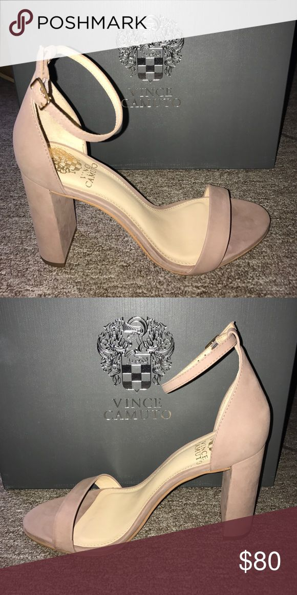 """Vince Camuto Mairana sandal Sandal in """"dusty rose"""" nubuck leather. Vince Camuto Shoes Sandals"""