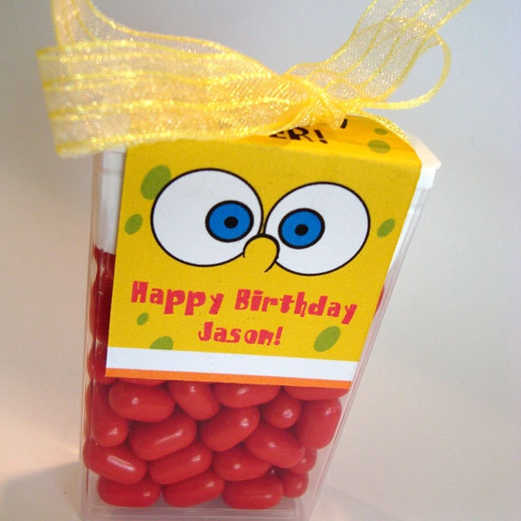 Spongebob - Tic Tac Party Favors!