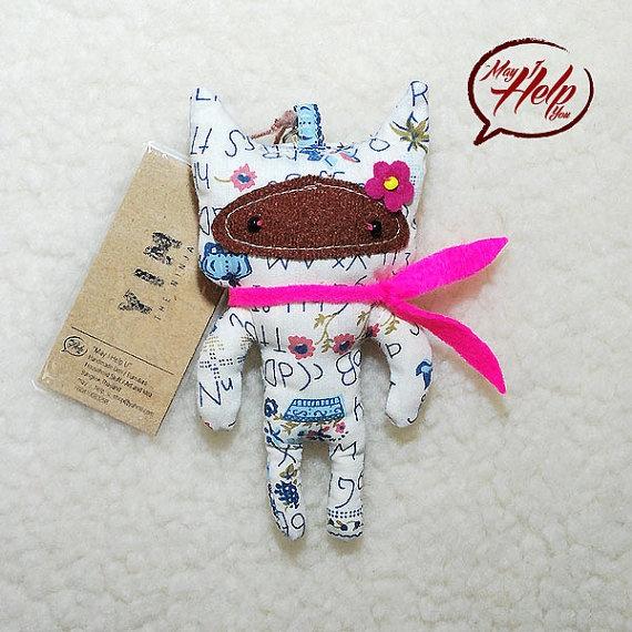 09 Yim  The Ninja 9 Lives Cat Project  Handmade Doll by MayIHelpU, $8.00