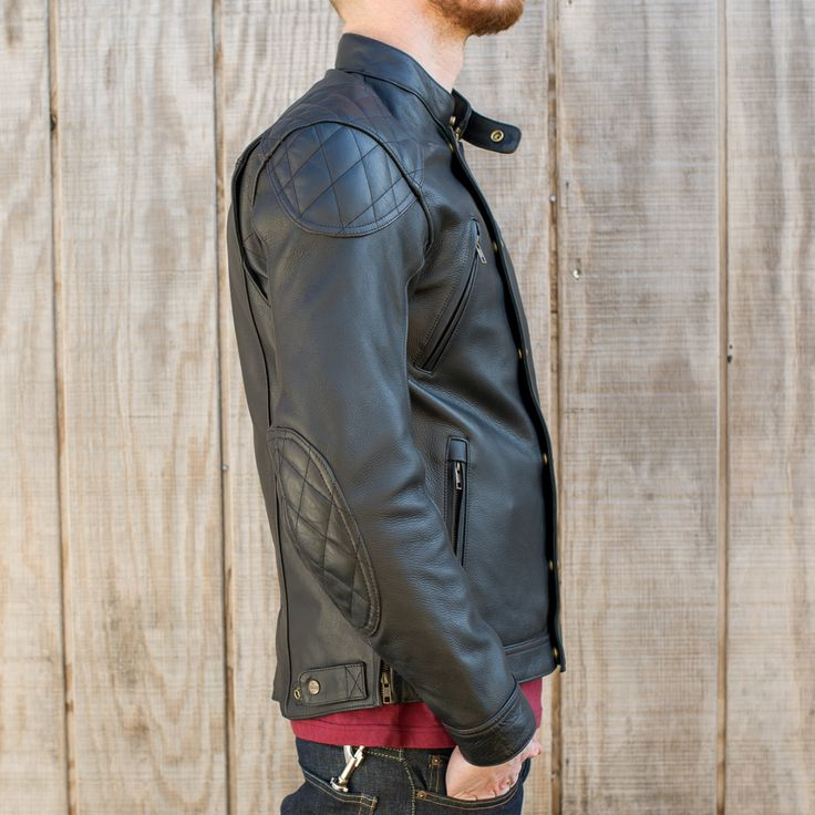 8 best jackets images on pinterest | cafe racers, leather jackets