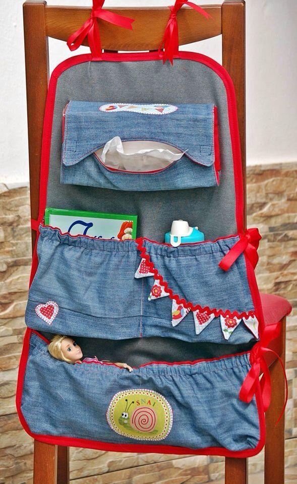 Car organizer, Would you like me to do a tutorial for sewing it? Pin and Coment below  Organizador de coche, te gustaría un tutorial de cómo se cose? Pinea y Comenta abajo