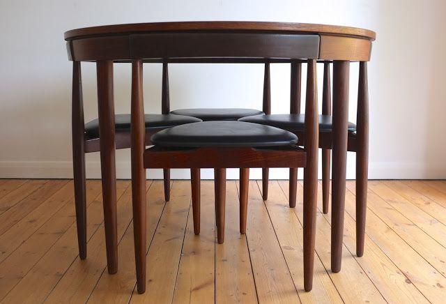 Hans Olsen Roundette dining set