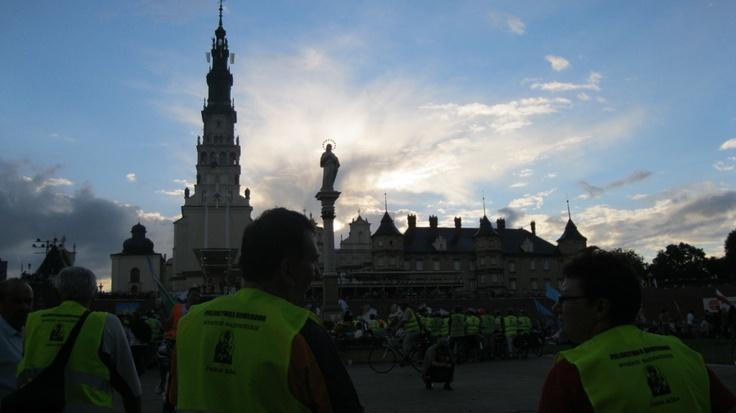 Bike pilgrimage to Czestochowa