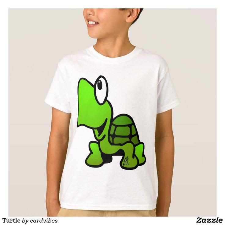 Turtle T-Shirt  #Turtle #Tshirt #Zazzle #Cardvibes #Tekenaartje #SOLD