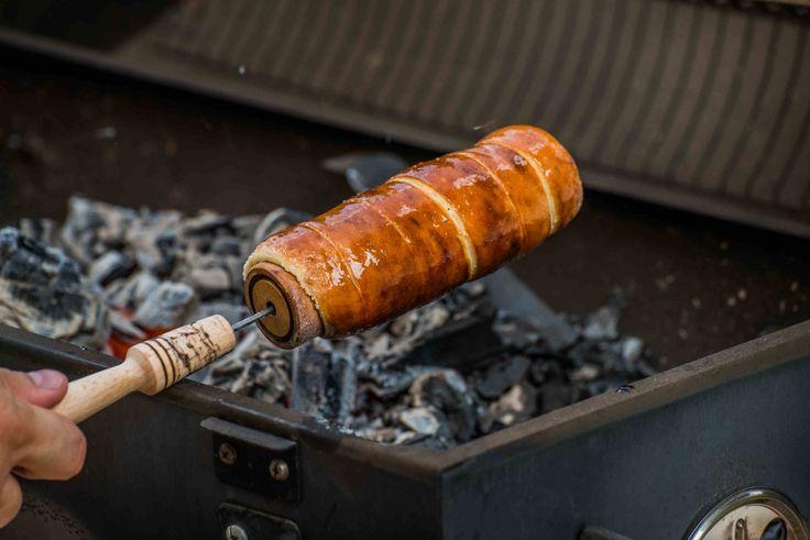Házi kürtőskalács grillsütőn recept