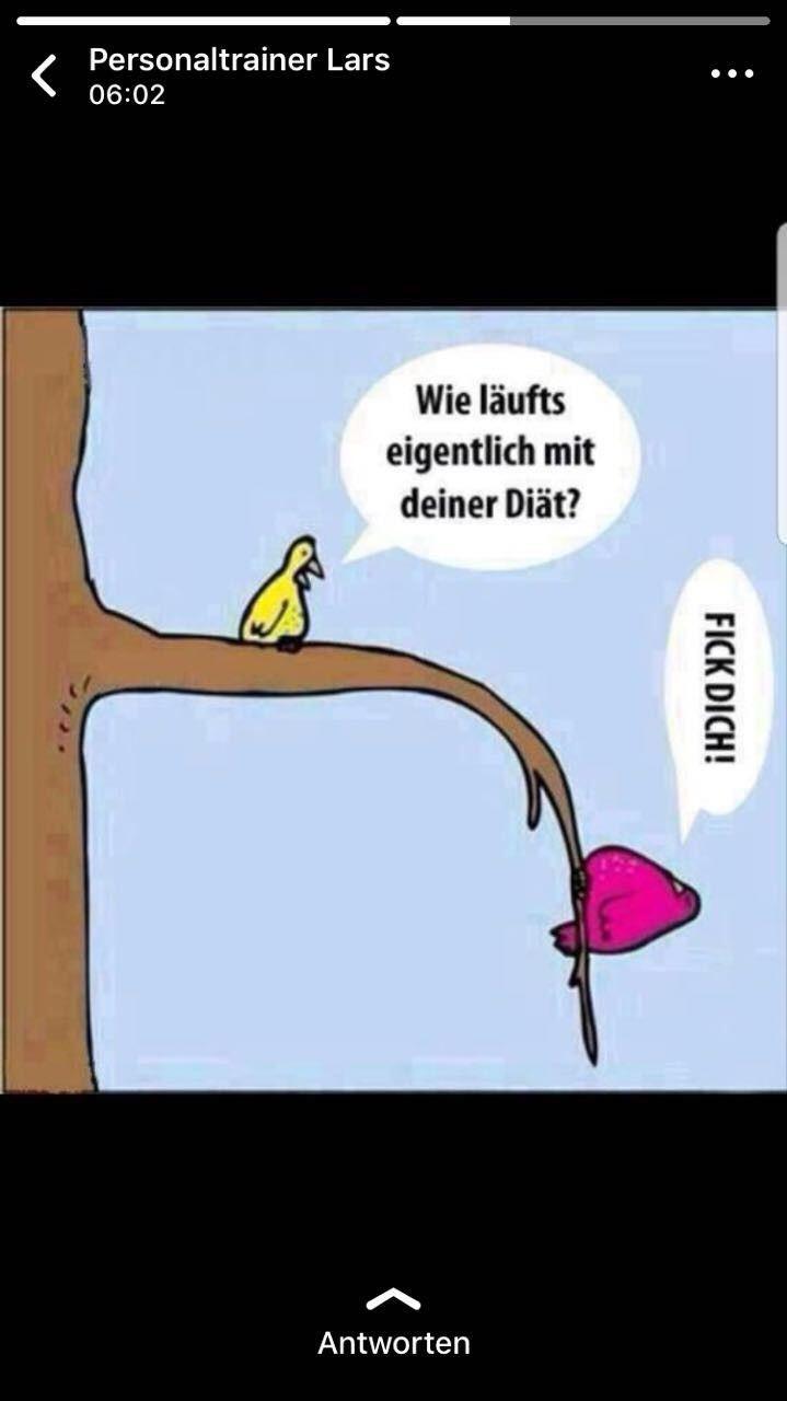 Diat Lustig Witzig Spruche Bild Bilder Und Wie Lauft S Mit Der Diat