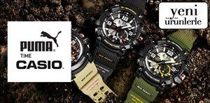 Casio & Puma - Saat Koleksiyonu