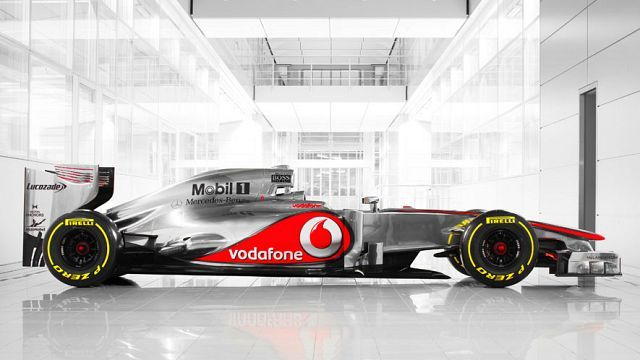 McLaren Mercedes MP4-27  2012-13 season  High hopes for this work of art giving Red Bull a good run for their money :-)