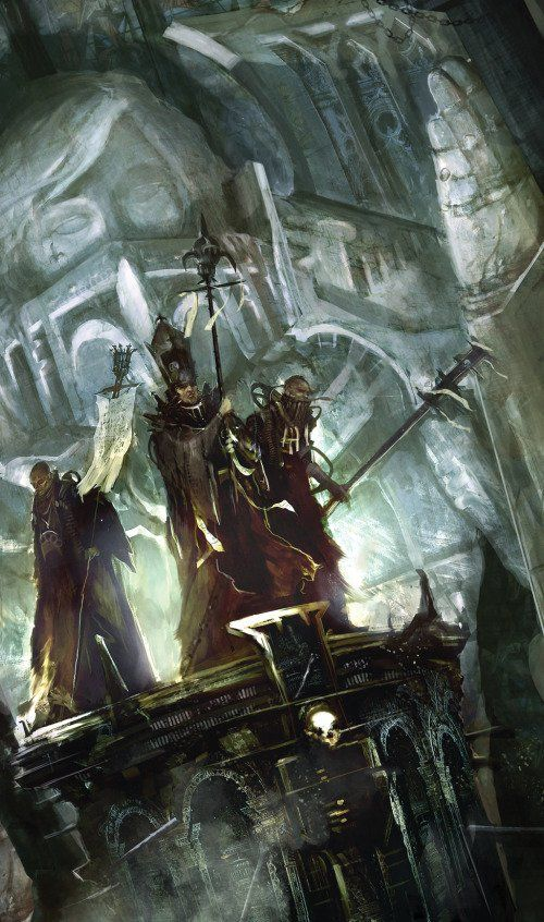 Warhammer 40k - Priests of the Ecclesiarchy
