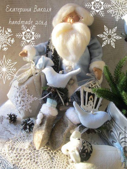 Куклы Тильды ручной работы. Ярмарка Мастеров - ручная работа Уютное Рождество дома ). Handmade.