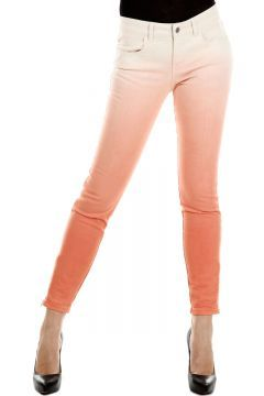 """Ankle Zip 4 pockets, Straight-cut leg, Casual, Flat front, Zip closure, Made in italy orange [Art. """"231529 SY427 6640 CORALLO""""]."""