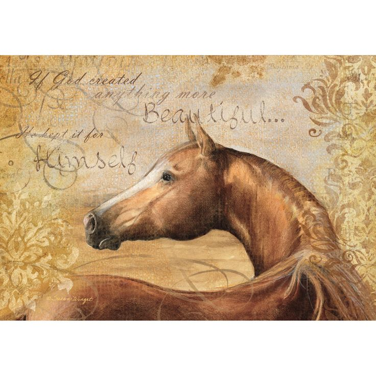 Chestnut Beauty Petite Notecard , 2080026 | Lang