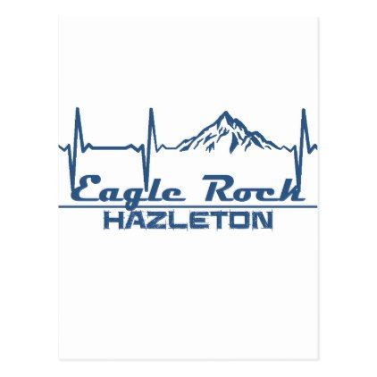 Eagle Rock Resort  -  Hazleton - Pennsylvania Postcard - postcard post card postcards unique diy cyo customize personalize