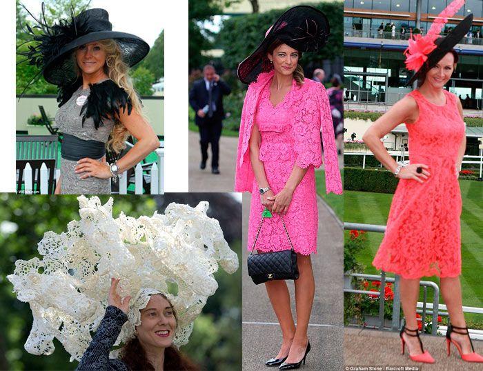 Модные летние кружевные платья 2014