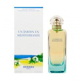 Un Jardin en Méditerranée: conceived as a watercolour, this perfume, composed in 2003 is inspired by a hint of the poetic in the Tunisian garden of Leïla Menchari (Director of displays for Hermès). Like a travel journal, it evokes that paradise-like universe of shade,water and light, based on the theme of a fig tree in the morning and Mediterranean citrus. The nose behind this fragrance is Jean-Claude Ellena.