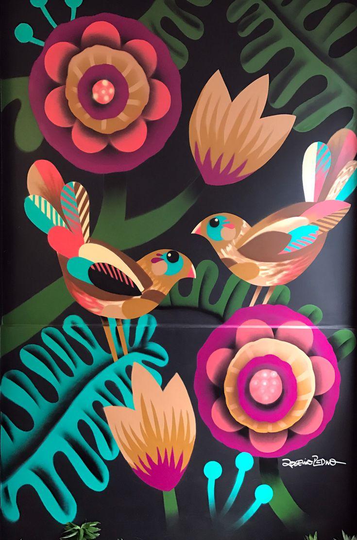 Birds na Bailônia encantada