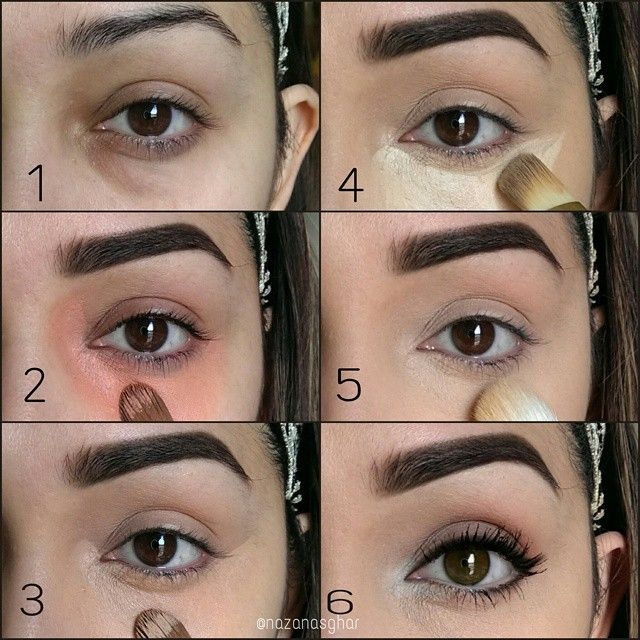 Pictorial on (How to cover dark circles)using Contour Cream kit in MEDIUM @anastasiabeverlyhills @norvina  STEPS.. WARM CORAL shade used as a corrector to neutralize the grey areas. NUDE shade used as a concealer or can be used as base too. BANANA shade used to brighten up the eye area I used BANANA powder to set and brighten the under eye.
