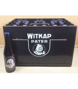 Witkap-Pater Dubbel full crate 24 x 33 cl