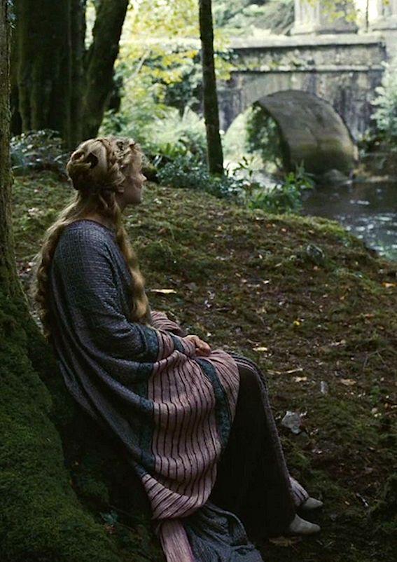 Sophia Mysles as Isolde in Tristan + Isolde - 2006