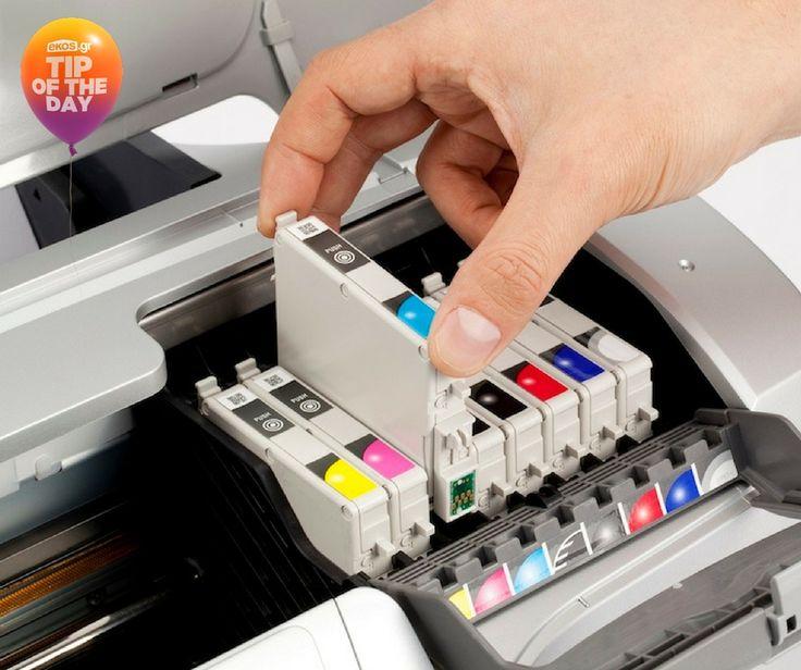 Εάν δε χρησιμοποιείς τον εκτυπωτή για μεγάλο διάστημα, τα μελάνια του μπορεί να στεγνώσουν και να ξεραθούν. Για να το αποφύγεις, εκτύπωνε καλού κακού μια φορά την εβδομάδα μια γραμμή κειμένου!
