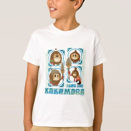 Moana   Fear The Kakamora T-Shirt - click to get yours right now!