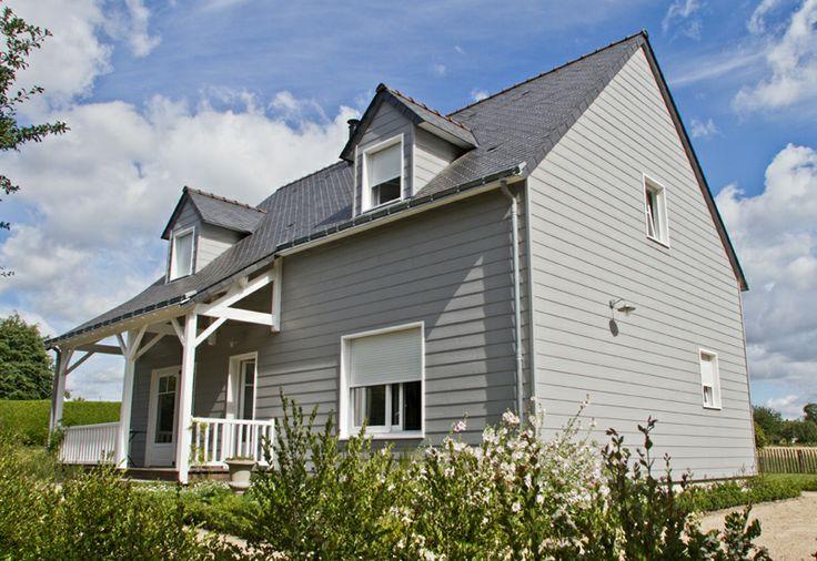 maison bardage bois id es pour la maison pinterest house. Black Bedroom Furniture Sets. Home Design Ideas