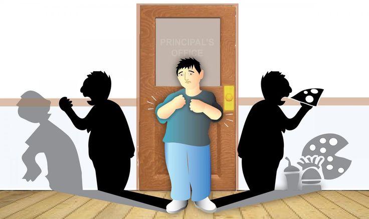Bullying Illustration by Mark Dubowski for Duke Medicine. CREDIT Illustration by Mark Dubowski for Duke Medicine