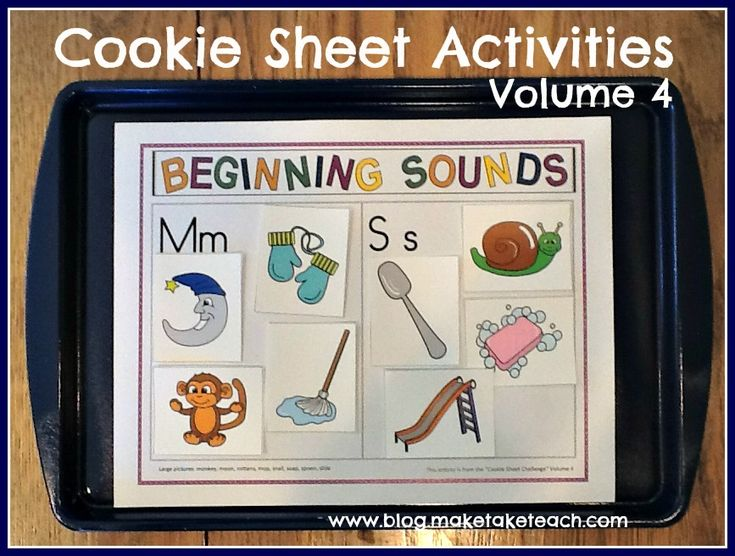 Cookie Sheet Activities Volume 4
