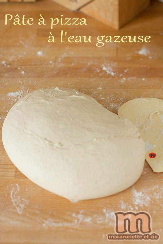 Etonnante pâte à pizza à l'eau gazeuse - Macaronette et cie