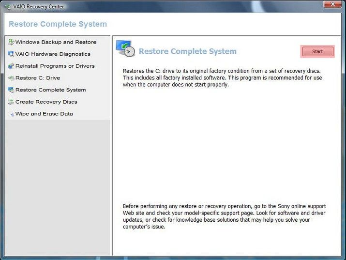 nieuw vind how to format sony vaio laptop windows 7 inactivity, you'll