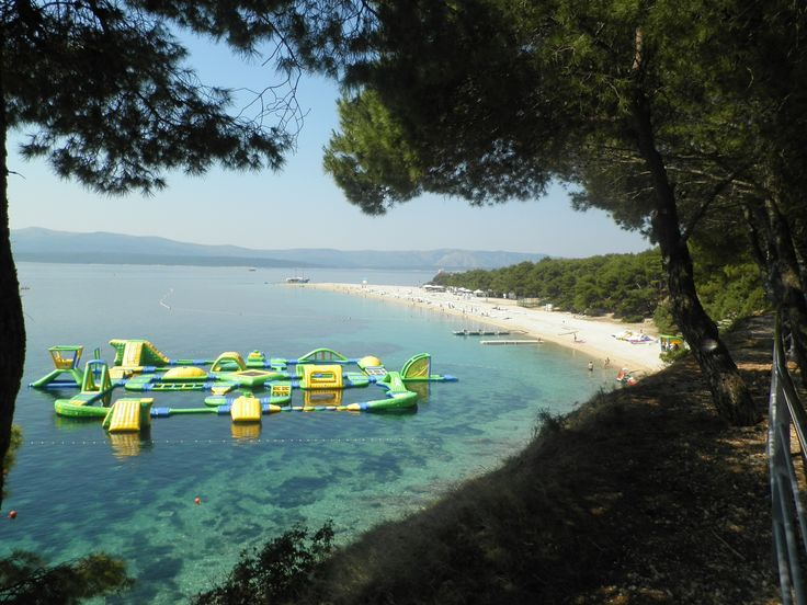 very known  Bol beach